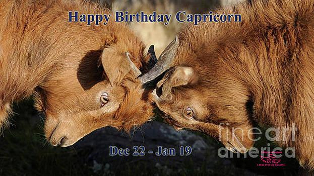 Happy Birthday Capricorn by Beauty For God