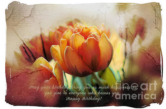 Happy Birthday by Elvira Gerecht