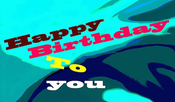 Ian  MacDonald - Happy Birthday In Blue
