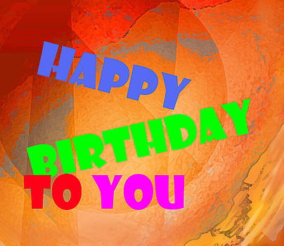 Ian  MacDonald - Happy Birthday In Orange