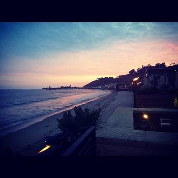 Malibu Sunsets at Nobu by Roomana Patel