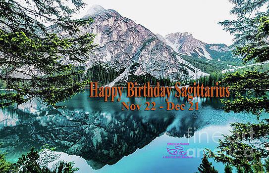 Happy Birthday Sagittarius by Beauty For God