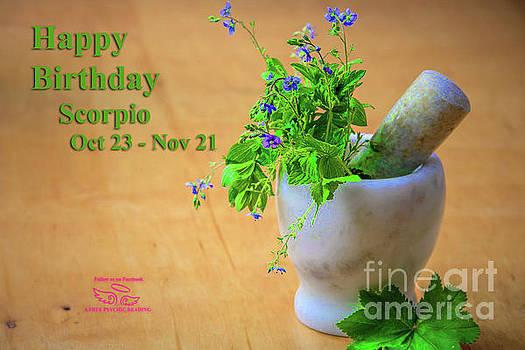 Happy Birthday Scorpio by Beauty For God