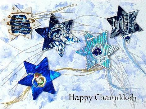 Happy Chanukkah by Susan Minier