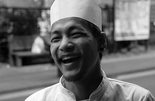 Happy Chef by Lens Artist