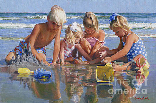 Candace Lovely - Happy Children at the Beach