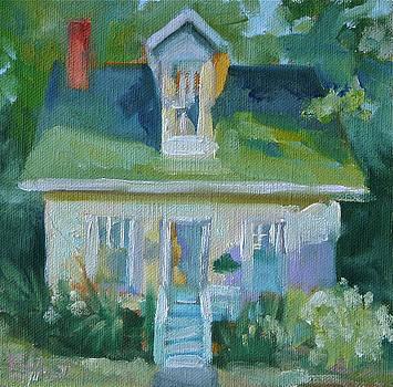 Happy Cottage by Elaine Hurst