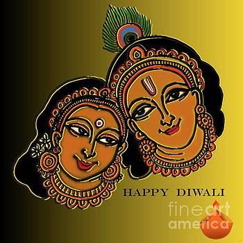 Happy Diwali by Latha Gokuldas Panicker