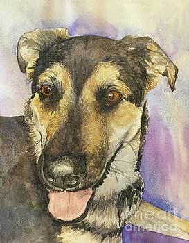 Happy Dog by Gretchen Bjornson