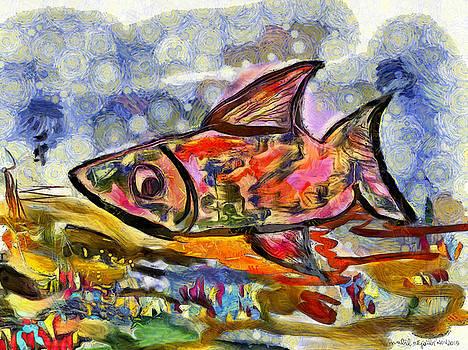 Happy fish by Nabil REJAIBI