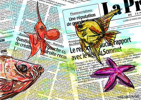 Happy fishes fresh news by Nabil REJAIBI