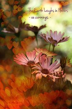 Happy Flowers by Lisa Comperry