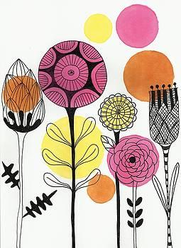 Happy Flowers by Lisa Noneman