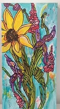 Happy Flowers by Michelle Gonzalez