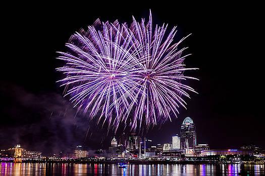 Happy Fourth Cincinnati by Keith Allen
