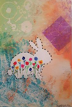 Happy Garden by Christal Kaple Art