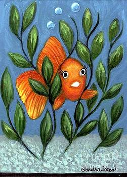 Happy Goldfish by Sandra Estes