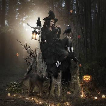 Happy Halloween by Cindy Grundsten