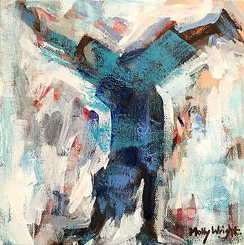 Happy Handstander by Molly Wright