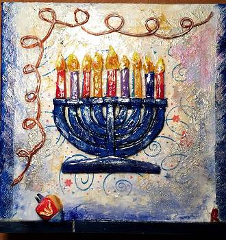 Happy Hanukah by Raya Finkelson