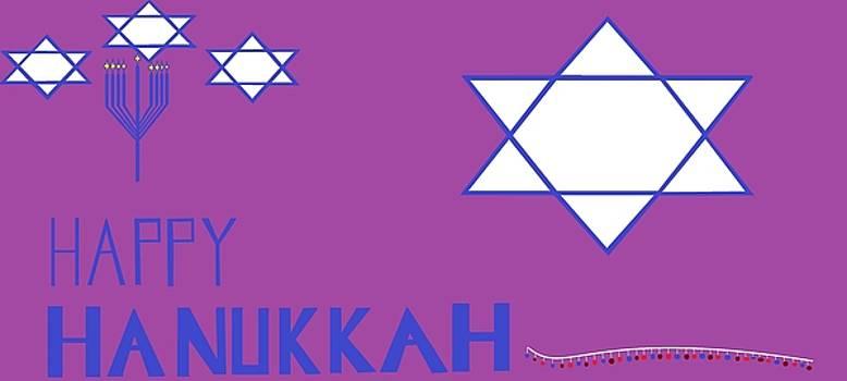 'Happy Hanukkah 13' by Linda Velasquez
