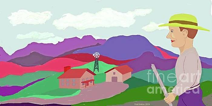 Happy Highland Farm by Fred Jinkins