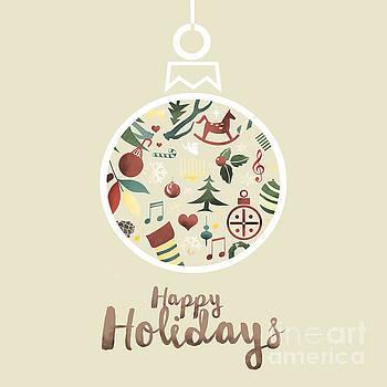 Sophie McAulay - Happy Holidays bauble