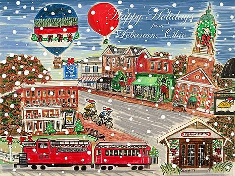 Happy Holidays from Lebanon, Ohio by Diane Pape