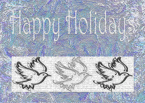 Happy Holidays I by Kat Solinsky