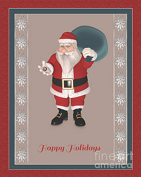 Happy Holidays To All by Barbara Milton