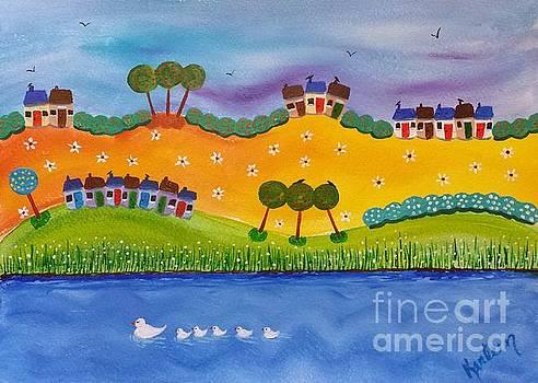 Happy Houses by Karleen Kareem