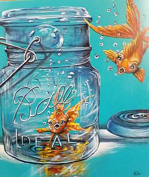 Happy in a Jar by Anna Gitchel