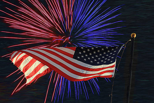 Happy Independence Day by Donna Kennedy