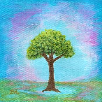 Happy Little Tree by Itaya Lightbourne