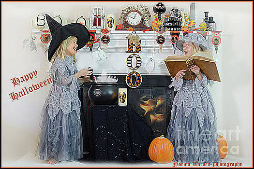 Happy Little Witches by Norma Warden