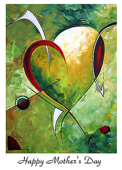 Happy Mother's Day by MADART by Megan Duncanson