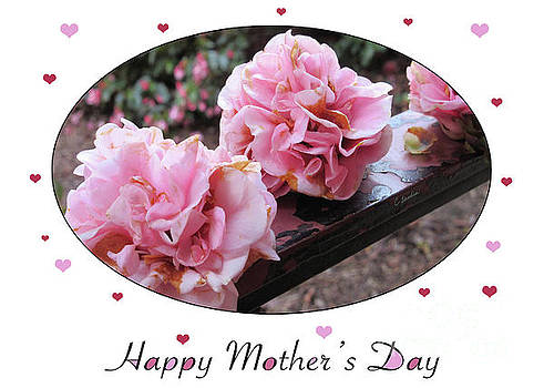 Happy Mother's Day - Card Number 004 by Claudia Ellis by Claudia Ellis