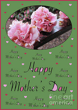 Happy Mother's Day - Card Number 005 by Claudia Ellis by Claudia Ellis