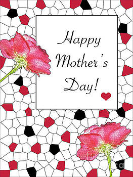 Happy Mother's Day - Card Number 007 bty Claudia Ellis by Claudia Ellis