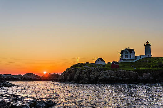 Happy National Lighthouse Day From The Nubble by Devin LaBrie