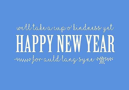 Happy New Year Auld Lang Syne Lyrics by Heidi Hermes