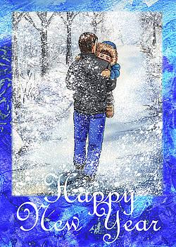 Irina Sztukowski - Happy New Year From Daddy And Son