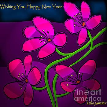 Happy New Year by Latha Gokuldas Panicker