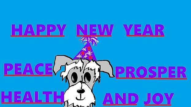 Happy New Year by Linda Velasquez