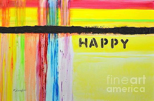 Happy painting by Mariana Stauffer
