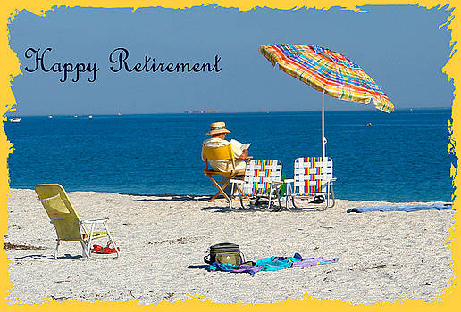 Carmen Del Valle - Happy Retirement Greeting Card