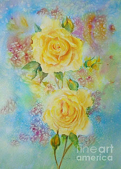 Happy Roses by Beatrice Cloake