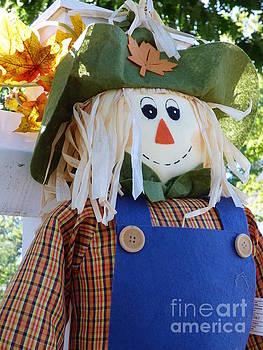 Happy Scarecrow by Leara Nicole Morris-Clark