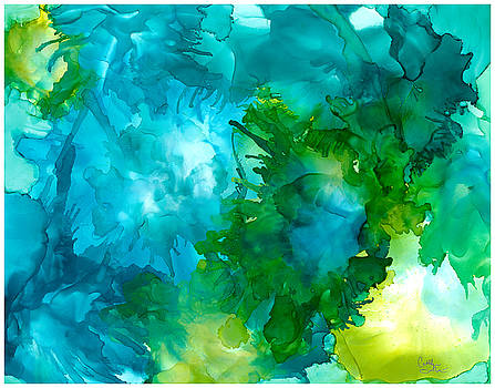 Happy Sea Urchins by Cathlyn Driscoll