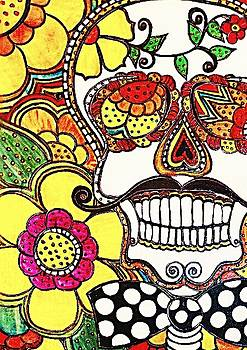 Happy Skull by Amy Carruth-Drum